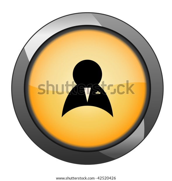man sign button. vector