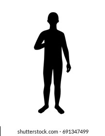 Similar Images, Stock Photos & Vectors of Man Standing ...