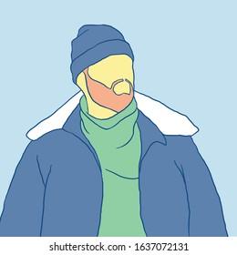 man simple design illustration picture on unsplash