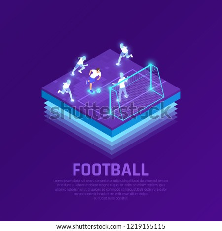 Man Vr Headset Virtual Players During Stock Vector (Royalty Free