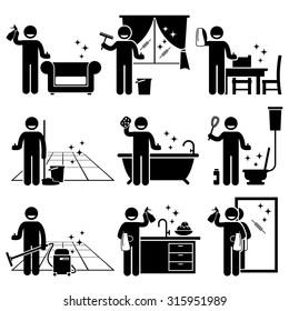 Imagenes Fotos De Stock Y Vectores Sobre Cocina Limpia Icono
