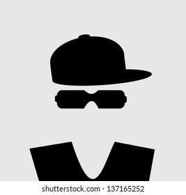 man wearing baseball cap and vest