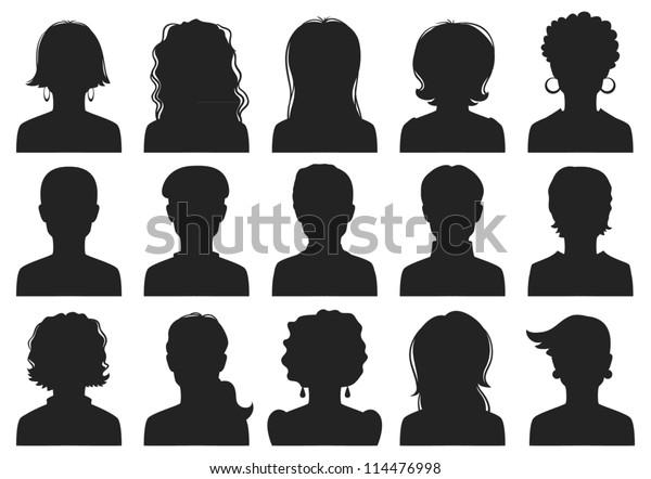 Avatare für Männer und Frauen