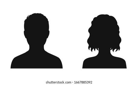 Face Silhouette Images Stock Photos Vectors Shutterstock