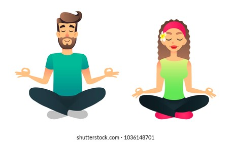 Royalty-Free Yoga Cartoon Stock Images, Photos & Vectors ...