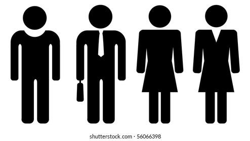 man and woman symbols
