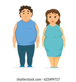 the fat person cartoon images stock photos vectors shutterstock rh shutterstock com Fat People Cartoon Characters Cartoon Fat Food