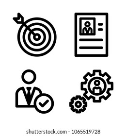 time management set outline icon eps stock vector royalty free Board Director Resume Example cons management with target manager resume and settings
