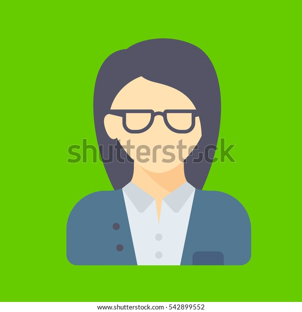 manager icon flat disign