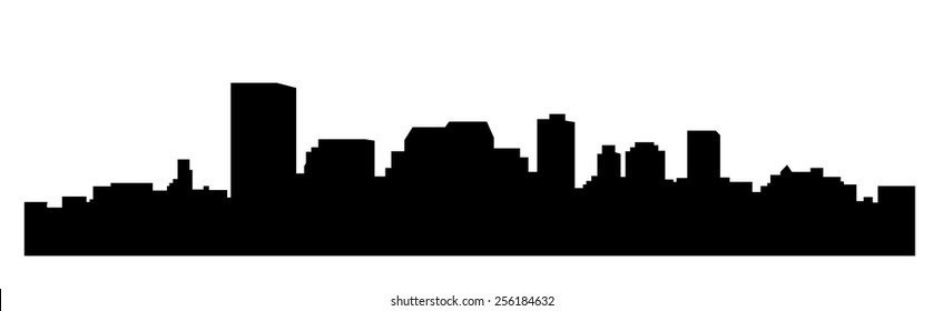 Manchester (city silhouette)