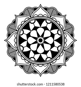 Fleur De Lotus Mandala Images Stock Photos Vectors Shutterstock