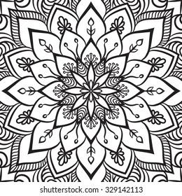Mandala Coloring Pages Images, Stock Photos & Vectors ...