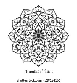 1000 Mandala Tattoo Pictures Royalty Free Images Stock Photos