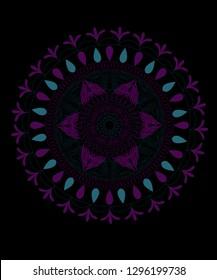 mandala desen tasarım