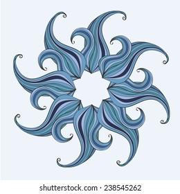 Mandala design. Concept image for card or design - vector