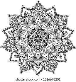 Mandala design - vector