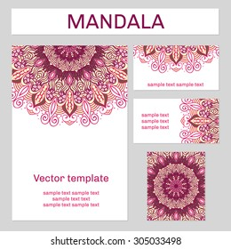 Sewing business card images stock photos vectors shutterstock mandala ornament designed in purple and yellow round background with many details east colourmoves