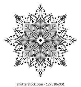 Flor De Loto Mandala Images Stock Photos Vectors Shutterstock