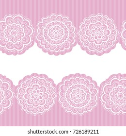 Mandala Seamless Pattern Hand Drawn Endless Vector Illustration Cute And Fancy Background For Wallpaper