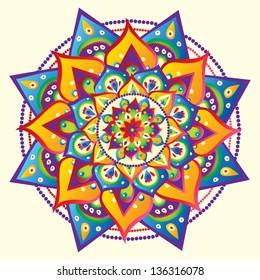 Mandala, vector