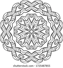 Mandala Vector Art Pattern Design