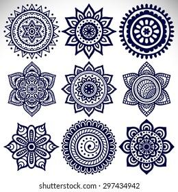 Asian design motifs
