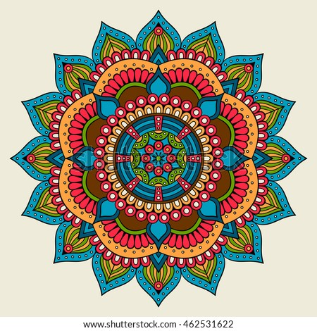 Mandala Vector Mandala Floral Mandala Flower Vector De Stock Libre
