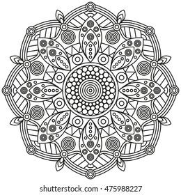 Mandala vector pattern.