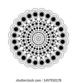 Dot Mandala Pattern Images, Stock Photos & Vectors