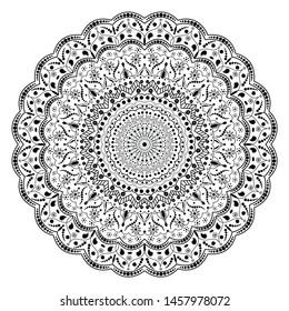 Dots Art Mandala Stock Illustrations, Images & Vectors