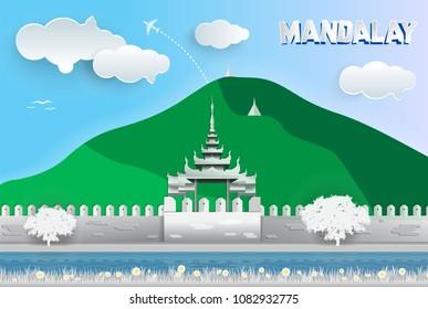 Mandalay, Paper Art, Myanmar, Asia
