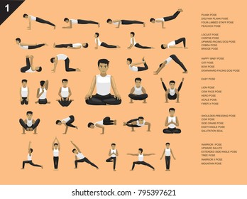 Yoga Posture Man Images Stock Photos Vectors Shutterstock