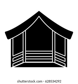 manger stable isolated icon