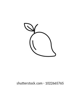 Outline Colouring Pictures Of Mango