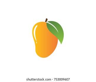 Mango logo vector template
