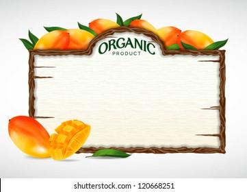 mango menu board