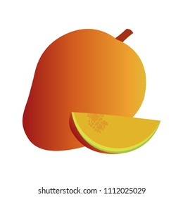 Mangoe sweet fruit
