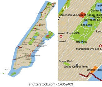 Road Map Of Manhattan.Manhattan Street Map Images Stock Photos Vectors Shutterstock