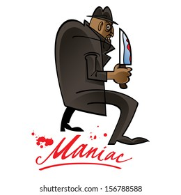 Maniac fear blood knife danger phobia killer