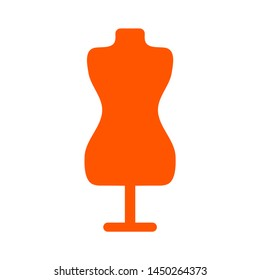 mannequin icon. Logo element illustration. mannequin design. colored collection. mannequin concept. Can be used in web and mobile