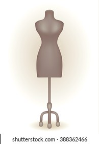 Mannequin for women's clothing