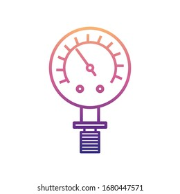 manometer nolan icon. Simple thin line, outline vector of Measuring Instruments icons for ui and ux, website or mobile application