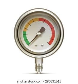 Manometer, Pressure gauge