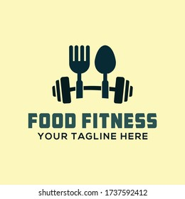Mans-Womans Gym, Fitness and Food Company Logo