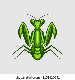 Mantis Vector Logo Illustration