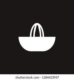 manual juicer icon. manual juicer vector design. sign design