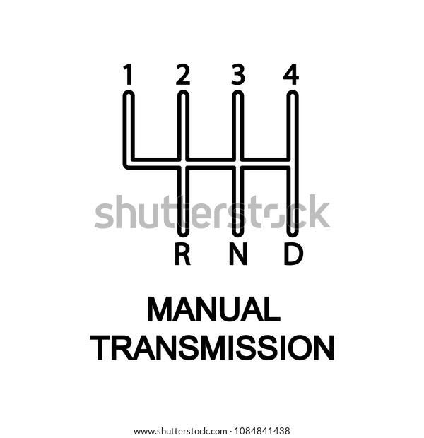 Manual Transmission icon. Element of car repair for mobile concept and web apps. Detailed  icon can be used for web and mobile. Premium icon on white background