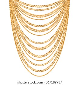 Gold Chain Images Stock Photos Vectors Shutterstock