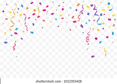 Confetti Transparent Background Images Stock Photos Vectors Shutterstock Find & download free graphic resources for confetti background. https www shutterstock com image vector many falling colorful tiny confetti ribbon 1012355428
