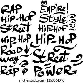 John Graffiti Font Style Name Stock Vector Royalty Free 322209521